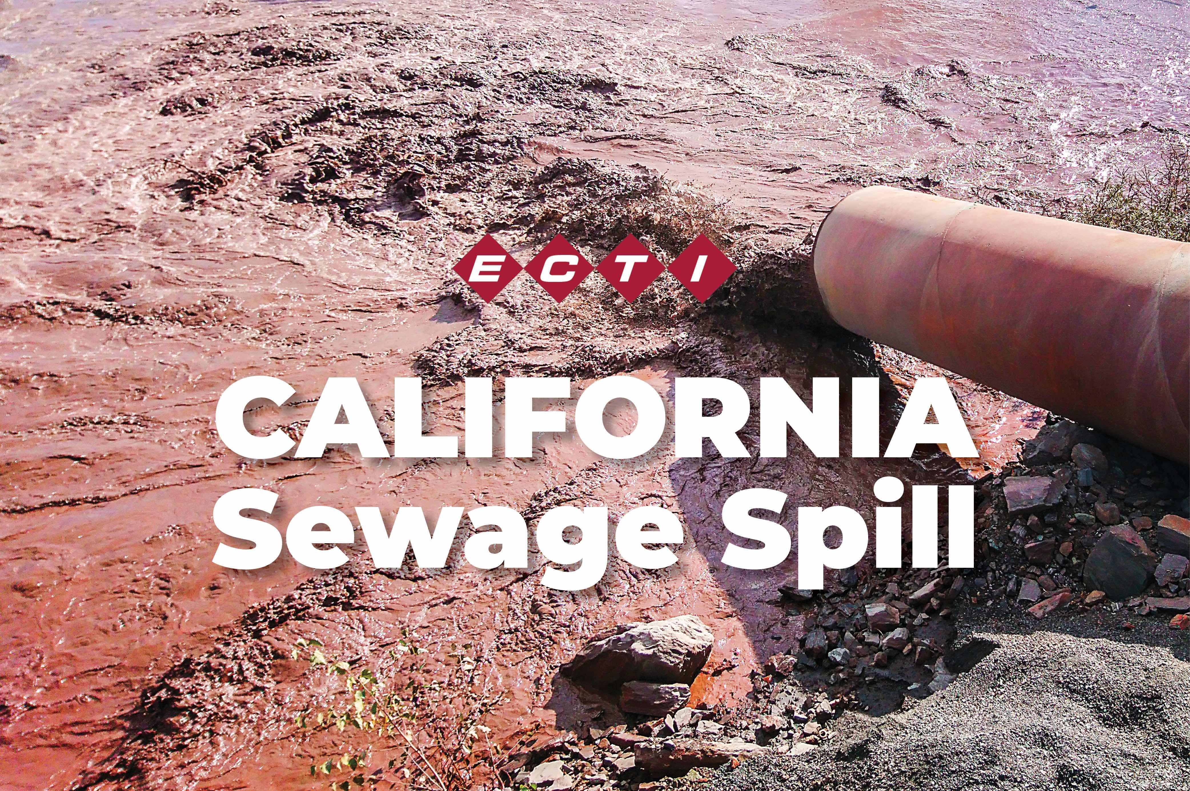 California Sewage Spill